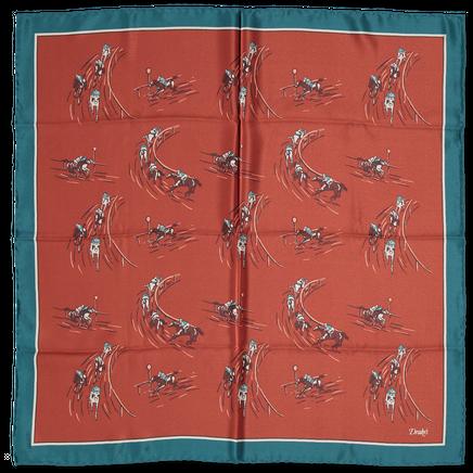 Horse Racing Printed Bandana
