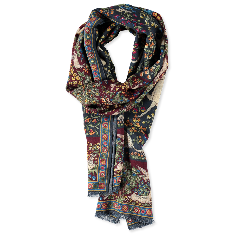 Mythical Forest Printed Scarf