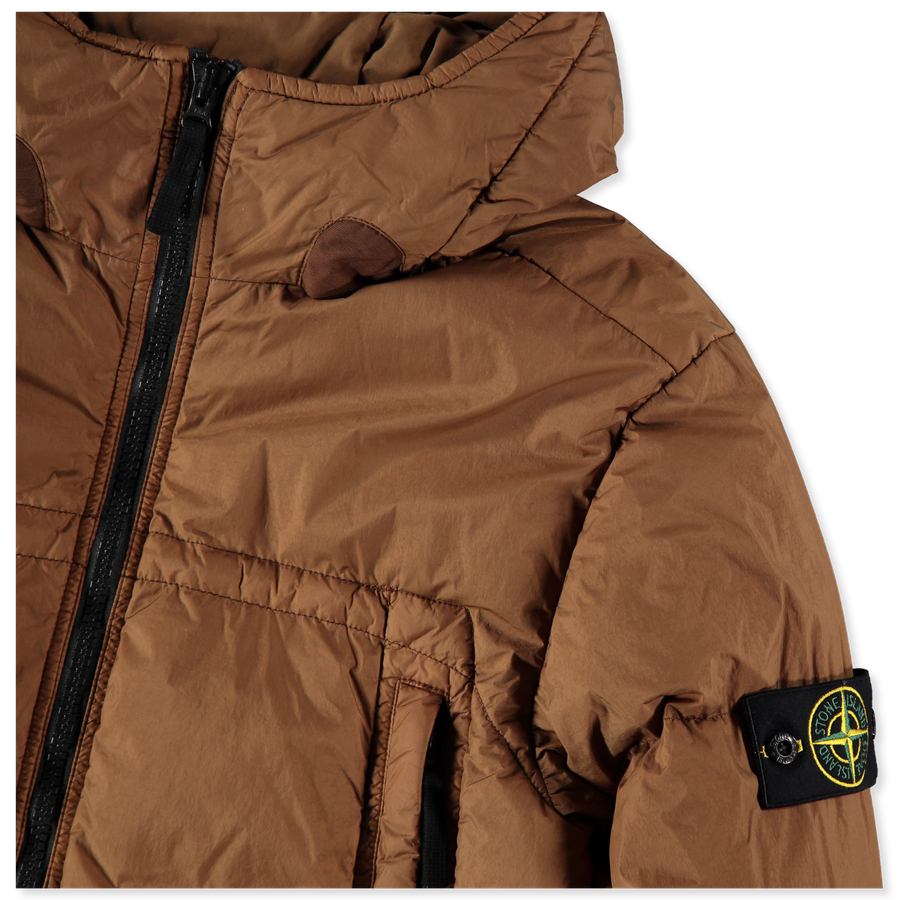 Crinkle Reps NY Hooded Down Jacket - 731540723 - V0071