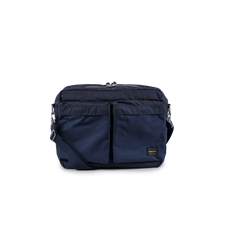 Porter Force Big Shoulder Bag - Navy