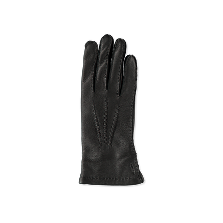 Emma Grained Leather Gloves