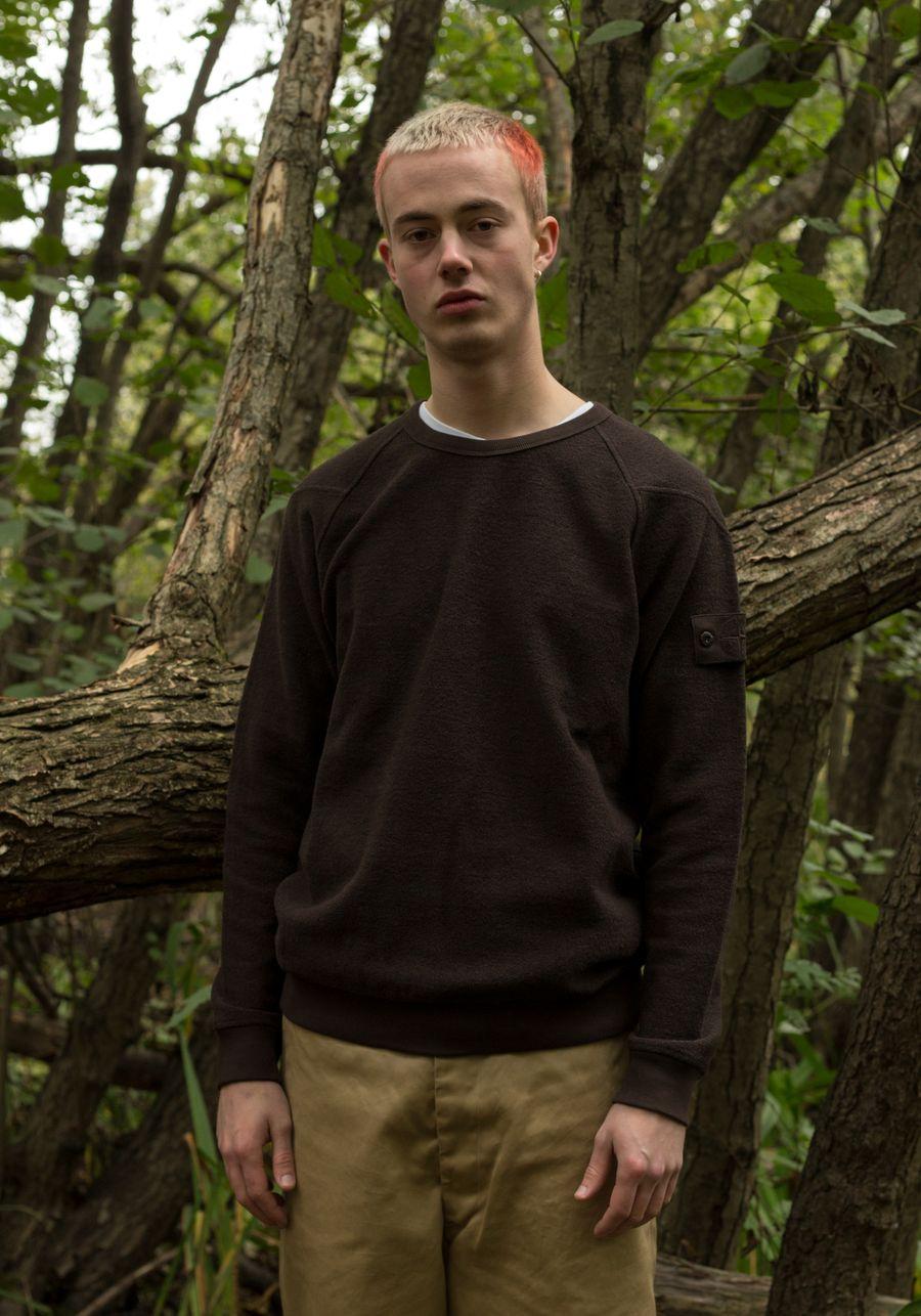 Ghost Terry Fleece Sweatshirt - 7315654F5 - V0070