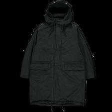 Teätora Dualpoint Hooded Long Coat - Black