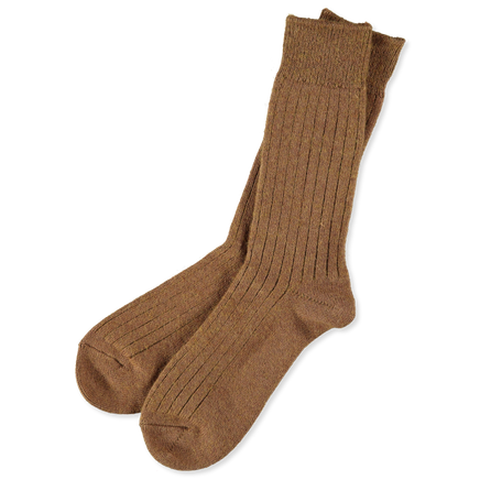 Cotton Wool Rib Socks
