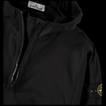 Hooded Pop Over Gabardine Stretch Overshirt 731510510 V0029