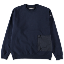 Neighborhood LIGHT-S / C-CREW LS - Navy