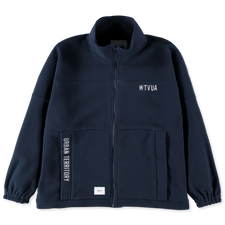 WTAPS FORESTER / CARDIGAN / FLEECE - Navy