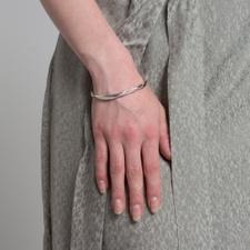 Cornelia Webb Molded Open Cuff - Silver