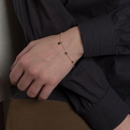Everyday Gold Sequin Bracelet