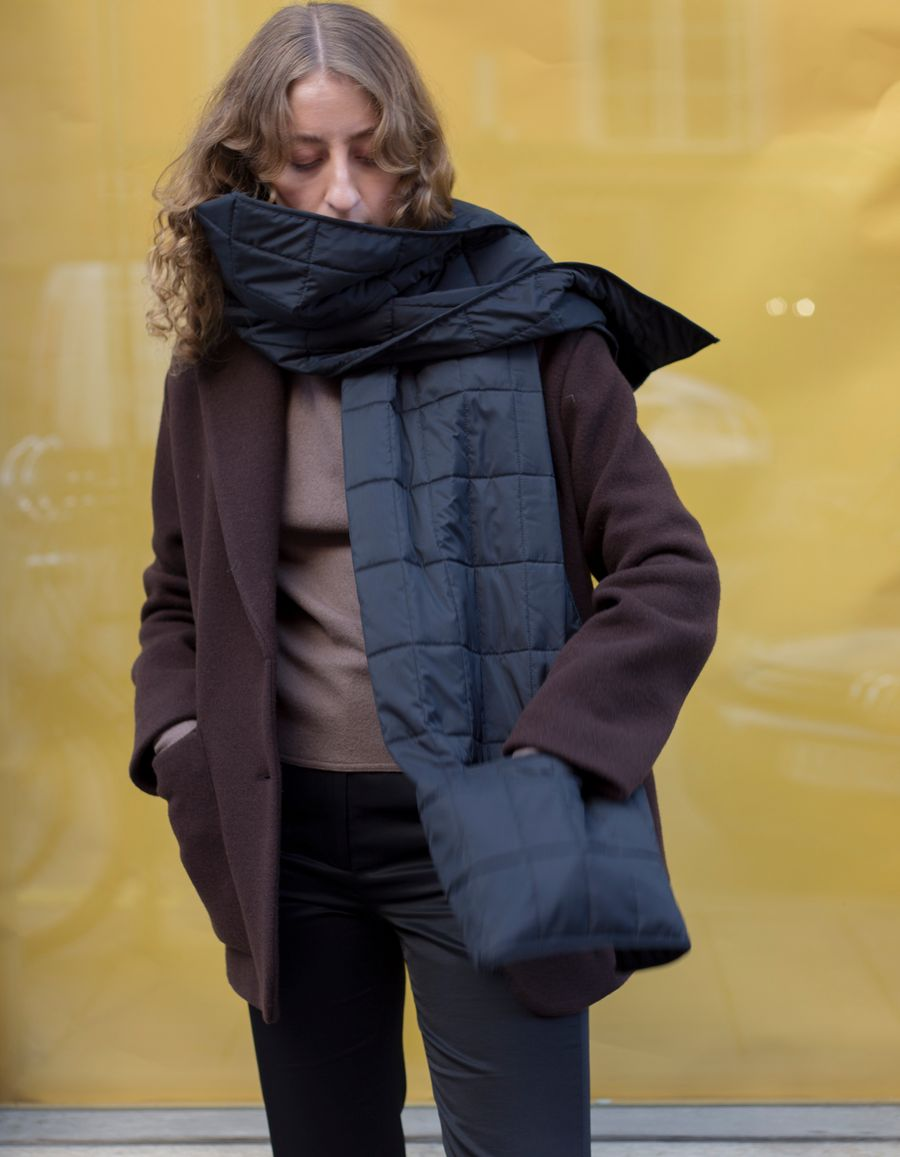 Re-Cover Pocketed Scarf