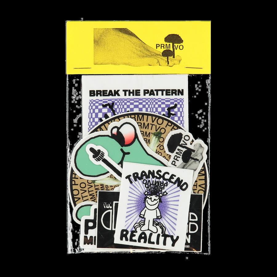 Break The Pattern Stickers