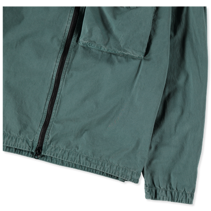 Old Effect Zip Overshirt - 7415117WN - V0157