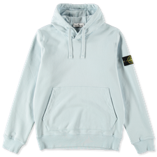 Stone Island Classic Hooded Fleece Sweatshirt 741564151 V0041 - SKY BLUE
