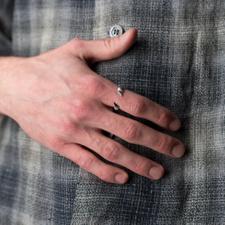 Hatton Labs                                        Bones Ring - Silver