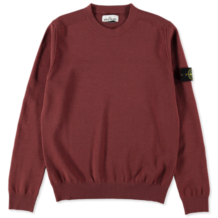 Ribbed Shoulder Crewneck 7315591A1 V0011