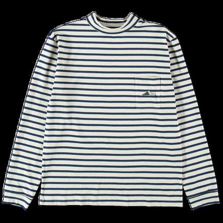 Midi Stripe Long Sleeve T-Shirt