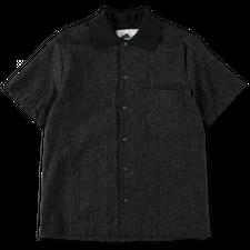 Anglozine Sonoran Rib Collar Shirt - Charcoal