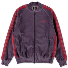 Needles R.C. Velour Track Jacket - Purple