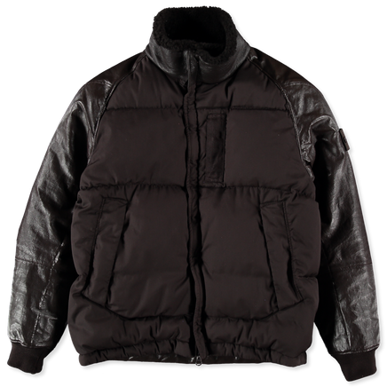 Ghost Featherweight Leather Down Jacket