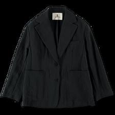 Barena Venezia Leonarda Drape Coat - Black