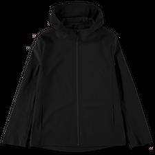 Harris Wharf London Hooded Light Technic Jacket - Black