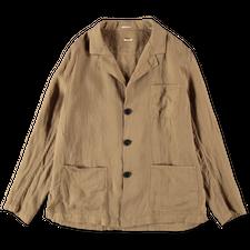 Massimo Alba Florida Linen Jacket - Tan