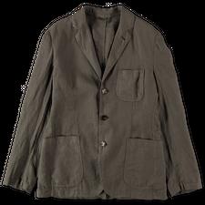 Aspesi Samuraki Linen Jacket - Army