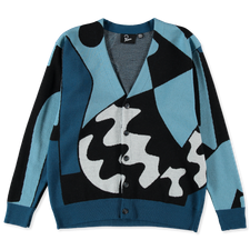 Parra                                              Too Loud Knitted Cardigan - Multi