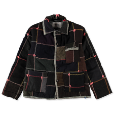 Bode                                               Crazy Quilt Jacket - Multi