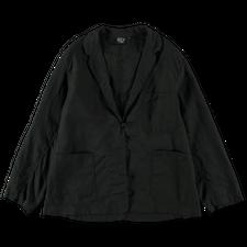 orSlow Frog Button Linen Jacket - Black