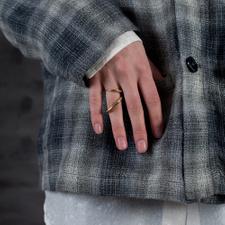 Faris                                              Coil Ring - Bronze