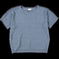 MASKA Sirus Top - Blue Melange