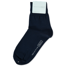 Hansel from Basel Trouser Crew Sock - Navy