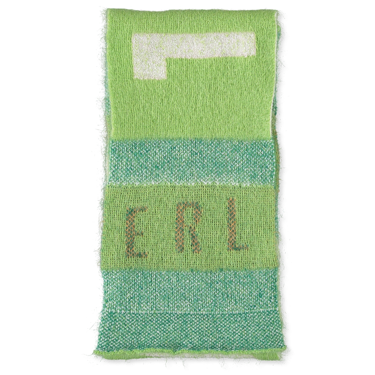 ERL                                                Men's Scarf - Green
