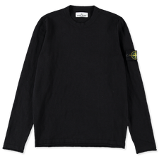 Stone Island Cotton Nylon GD Crewneck 7415502B0 V0029 - BLACK