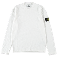 Stone Island Cotton Nylon GD Crewneck 7415502B0 V0001 - WHITE