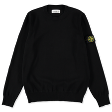 Stone Island Light Cotton Crewneck 7415504B2 V0029 - BLACK