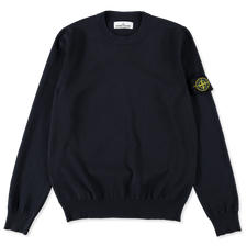 Stone Island Light Cotton Crewneck 7415504B2 V0020  - NAVY BLUE