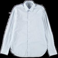 Nitty Gritty Washed Co/Li Stripe Shirt - Lt Blue