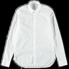Nitty Gritty Washed Poplin Shirt - White