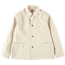 orSlow 40's Coverall Jacket - Ecru