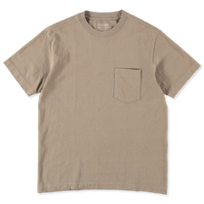 Lady White Co. Balta Pocket T-Shirt - Almond