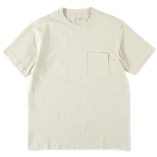 Lady White Co. Balta Pocket T-Shirt - Bone