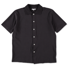 Lady White Co. S/S Placket Polo - Tire Black