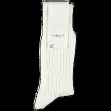 Lady White Co. LWC Socks - White
