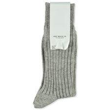 Lady White Co. LWC Socks - Grey Melange