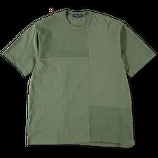 Comme des Garçons Homme                            Patchwork T-Shirt - Khaki