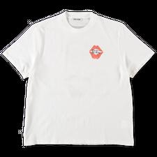 Our Legacy                                         Box T-Shirt Signature Kiss Print - White