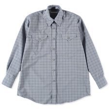 Our Legacy                                         Ranch Shirt - Blue Check