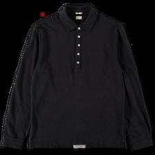 Massimo Alba Raya L/S Linen Pique Shirt - Navy